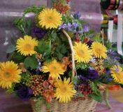 Bouquet rond fleuriste 11eme