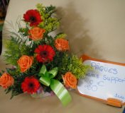 Bouquet rond fleuriste 13011