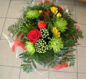 Bouquet rond artisan fleuriste