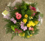 bouquet fleuriste rond
