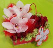 Composition florale artisan Marseille